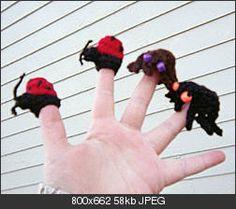 Finger puppets! Why don't I make more?