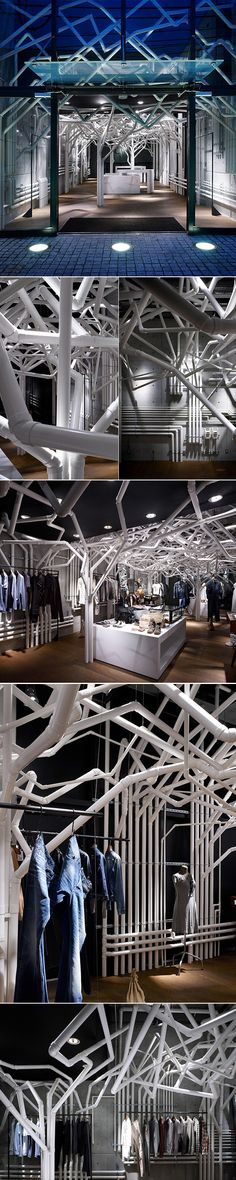 Concept store pour Diesel Denim decodesign / Décoration