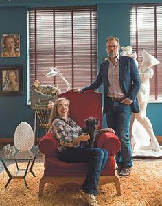 Rachel Feinstein and John Currin.
