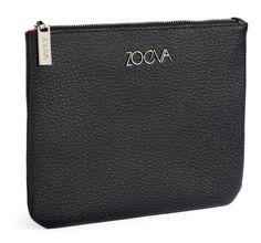 ZOEVA Black Brush Clutch Large - classy makeup storage https://www.zoeva-shop.de/en/makeup-tools/bags/brush-clutch-large/a-8000368/