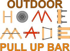 This guide will provide you a basic construction approach, which can be used to build DIY:    	Outdoor pull up bars  	Dip bars  	General body weight training equipment    ...all to your own custom specs.