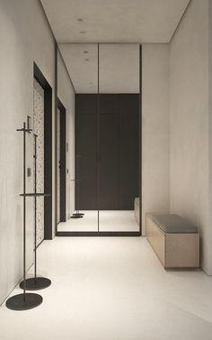 """Two-rooms flat, square 76 m²""""Losiny Ostrov"""", MoscowИногда бывает так, что источником вдохновения становится образ жизни и профессия человека, для которого создано пространство. Графичность, актуальность, мода,свободные идеи и мечтыKDVA - Дизайн интер…"""