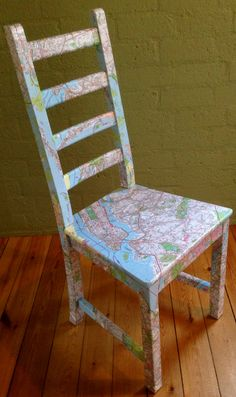 New York Map Seat by CleverMakings on Etsy, €159.00