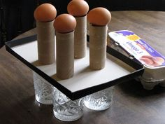 Physics with Kids- the 4 egg challenge (Newton's First Law of Motion) #homeschool #science #physics Ordinary Life Magic: Newton's First : With Raw Eggs