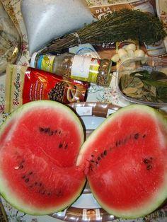 Cristina's world: Pepene murat la borcan Watermelon, Fruit, Food, Preserves, Eten, Meals, Diet