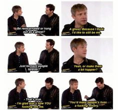 Martin Freeman, everybody