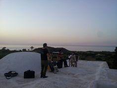 A Pantelleria si suona sui tetti