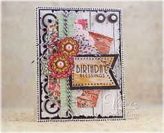 Verve Stamps: B is for Birthday Diva Inspirations Challenge Hop
