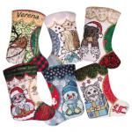 Appliqued Christmas Stockings