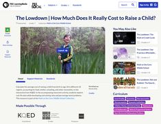 The Lowdown — How Much Does It Really Cost to Raise a Child? Article for 7th Grade | Lesson Planet