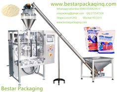 Bestar packaging machine manufacturing floor tile grout powder sachet filling machine with screw feeder,floor tile grout powder vartical packaging machine,floor tile grout powder VFFS machine . Skype:coco11283  WhatsApp,viber:008613590629511,onepacking@gmail.com   www.bestarpackaging.com Wechat:YECO11     QQ:277547358