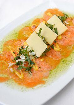 Carpaccio de salmón | T en Emol.com