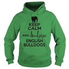 Keep calm and love English Bulldog