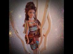 My Dollydress africana - YouTube