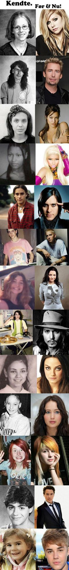 Celebs, Then And Now