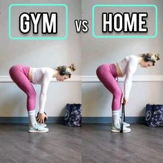 Gym VS Home Modification Deadlift fitnees routine – Top healthy fitness Pilates Workout, Butt Workout, Hiit, Gym Workouts, At Home Workouts, Couch Workout, Chest Workout Women, Home Workout Videos, Resistance Workout