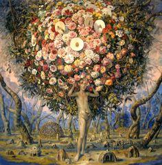 Julie Heffernan. Unreal Renaissance Paintings