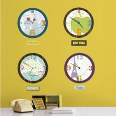 Travel Wall Decals Posters at AllPosters.com for a travel themed classroom