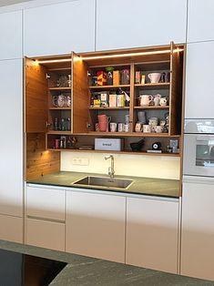 Kitchen Cabinets, Kitchen Appliances, French Door Refrigerator, French Doors, Liquor Cabinet, Storage, Furniture, Home Decor, Apartment Kitchen