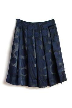 Layered Sheer Tucked Skirt by AtelierToiToiToi on Etsy, $35.00