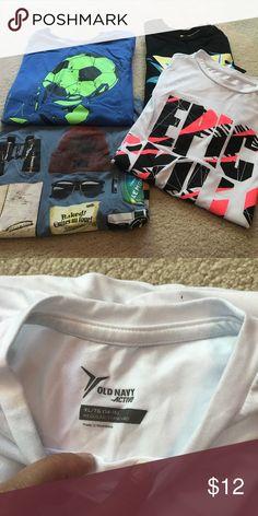 4 TShirts Size 14-16, gently used Shirts & Tops Tees - Short Sleeve