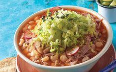 Pozole rojo, el pozole de todo mexicano. La receta que no debe faltar en tu recetario ¡Tienes que prepararlo! Revista Cocina Vital.