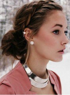 i want my ears pierced like that (:
