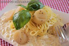 Sommer-Pasta mit Zucchini und Harzer Käse - http://kathys-kuechenkampf.de/sommer-pasta-mit-zucchini-und-harzer-kaese/