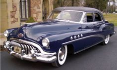 1952 Buick Roadmaster Harlow Curtice Limousine