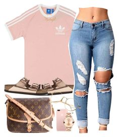 A fashion look from September 2017 featuring short sleeve tee, distressing jeans and metallic flat sandals. Browse and shop related looks. Urban Outfits, Stylish Outfits, Cool Outfits, Summer Outfits, Date Outfit Casual, Weekly Outfits, Cute Crop Tops, Fashion Killa, Polyvore Outfits