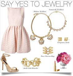 And sometimes, more is more. Let your accessories do the talking in this perfectly pink look. http://www.stelladot.com/JulieFitzsimmons