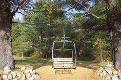 Maine Rustic Wedding - Mountain House Harvest Party #fall www.mountainhouseonsundayriver.com #ski