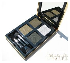 Yves Saint Laurent Pure Chromatics Harmony N° 10 Palette for Fall 2012 ~ Click through for Swatches, Photos, Review