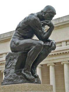 | The Thinker by Auguste Rodin Bronze