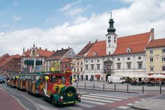 City train Jurček - Maribor - SI Slovenia, A Funny, Street View, Romantic, Train, City, Cities, Romance Movies, Romantic Things