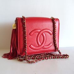Love the red Chanel bag!