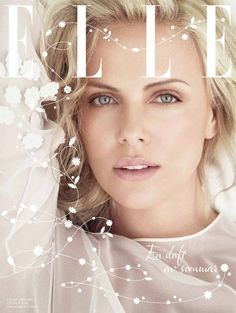 Charlize Theron on Elle Sweden  The Gossip Wrap-Up!: Coverin' It: