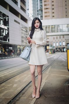 Here&Apos;S classy korean fashion outfits 1399629736 Korean Fashion Kpop, Korean Fashion Dress, Korean Fashion Summer, Ulzzang Fashion, Korean Street Fashion, Korean Outfits, Asian Fashion, Fashion Dresses, Style Casual