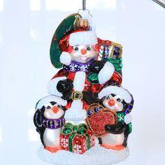 Dave Thomas, Christopher Radko, Foundation, Adoption, Christmas Ornaments, Holiday Decor, Celebrities, Gifts, Ebay