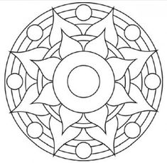 Select Your favorite Mandala drawing and expose your inner artist by coloring image with creativity.Color others life by coloring as an inspirational image Mandala Art, Mandalas Drawing, Mandala Coloring Pages, Mandala Painting, Mandala Pattern, Dot Painting, Colouring Pages, Coloring Books, Stained Glass Patterns