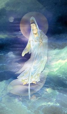 Kuan Yin: In Mahayana Buddhism—the goddess of compassion who hears the cries of the world.