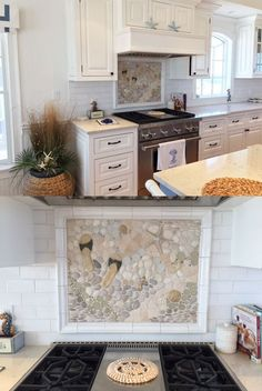 Kitchen Backsplash Border nautical backsplash border with dragonflies, crabs, starfish