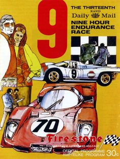 Kyalami 9 hour… 1970 program cover