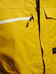 Vision 2 Layer Jacket, LEMON CURRY