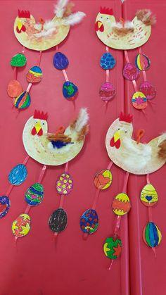 Easter decoration by my students. Elena Chalkiadaki- Agios Spyridonas Public Kindergarten