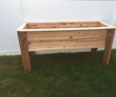 I couldn't find an instructable for a raised bed planted that we liked so I decided to make one. Will try to be as thorough as possible but keep in mind this is my first instructable and first major woodworking project. The planter itself is 6ft wide, 2ft deep and 3ft tall. The bed portion is roughly 18 cubic feet. I am creating this instructable as an afterthought, and I didn't fully keep track of the supplies I bought. I had also bought enough to do 3 planters at the same time but w...