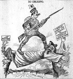 This political cartoon shows a Japanese man using a korean man as a bridge to cross to the mainland in order to conquer more territory (southeast asia) World History, World War Ii, Kendo, Japanese Men, Cartoon Shows, Political Cartoons, Southeast Asia, Africa, Animation