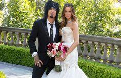 Wedding Of Musician Nikki Sixx And Model Courtney Bingham