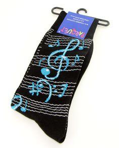 Music Men's Socks Novelty Fun Black Dress Casual Fashion Muscian Gift Him New #Parquet #Novelty