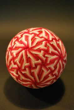images results for symbolism in temari patterns Bowling Ball Art, Temari Patterns, Clay Faces, Water Beads, Wire Crochet, Flower Ball, Japanese Textiles, Ball Lights, Felt Ball